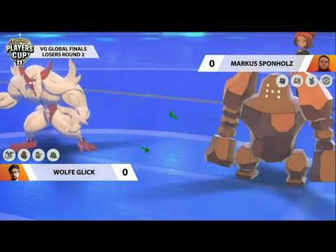 2020 Pokémon Players Cup 2 VGC Global Finals L2 - Wolfe Glick vs Markus Sponholz