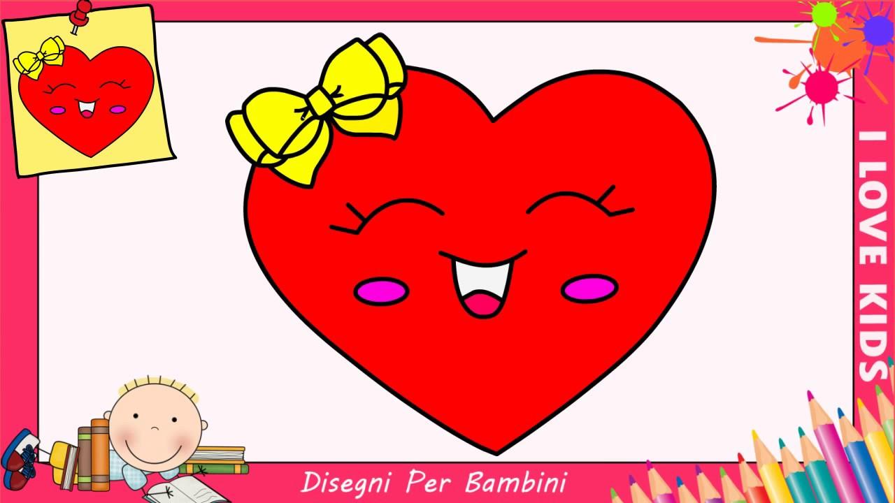 Come disegnare un cuore facile kawaii passo per passo for Disegni facili kawaii