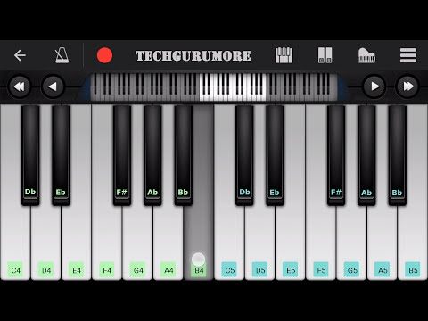kuch kuch hota hai piano tutorial