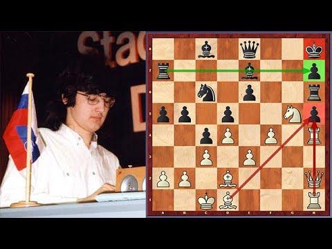 Shocking! Kramnik Sacrifices His Queen Against Junior (Computer)