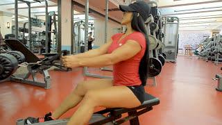 DEFINE TU ESPALDA RUTINA completa entrena con  Ana Mojica Fitness