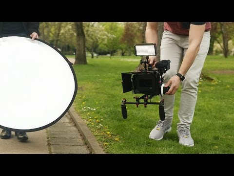 Filmcity Professional Camera Support Kit For Panasonic Lumix GH4/ GH3 And Sony A7/A7r/A7s Cameras