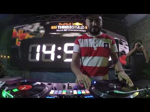 Campeón Red bull Thre3style 2016 Mexico Dj Jimmix #3style
