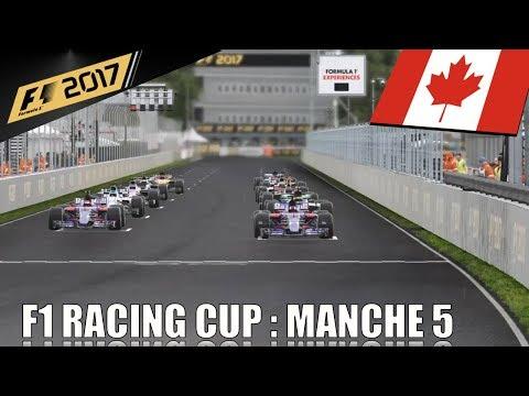 Championnat F1 Racing Cup : Manche 5 :  Grand Prix du Canada