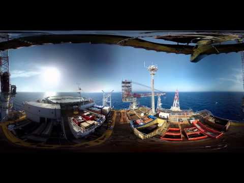 360° videos: first time ever on an offshore oil platform