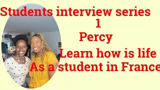 New series 1).Life aṡ a student in France (Percy)