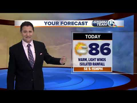 South Florida Thursday morning forecast (10/25/18)