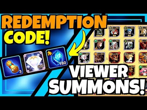 REDEMPTION CODE & END GAME VIEWER SUMMONS!!! AFK ARENA