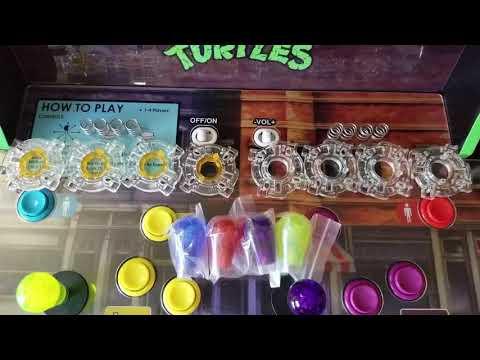 Arcade1up TMNT Teenage Mutant Ninja Turtles MOD! - Caguabanga Dude! from Jonathan's Toy Chest
