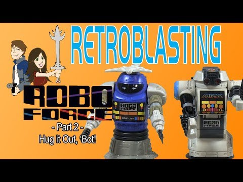 Robo Force Vintage Toy Review Ideal 1984 Part 2/2