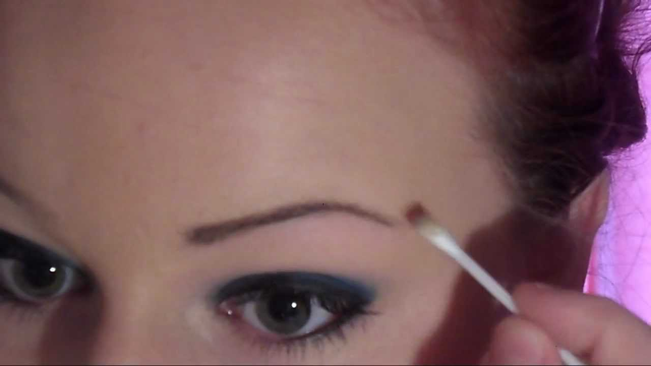 High Arched Eyebrow Tutorial Request Youtube