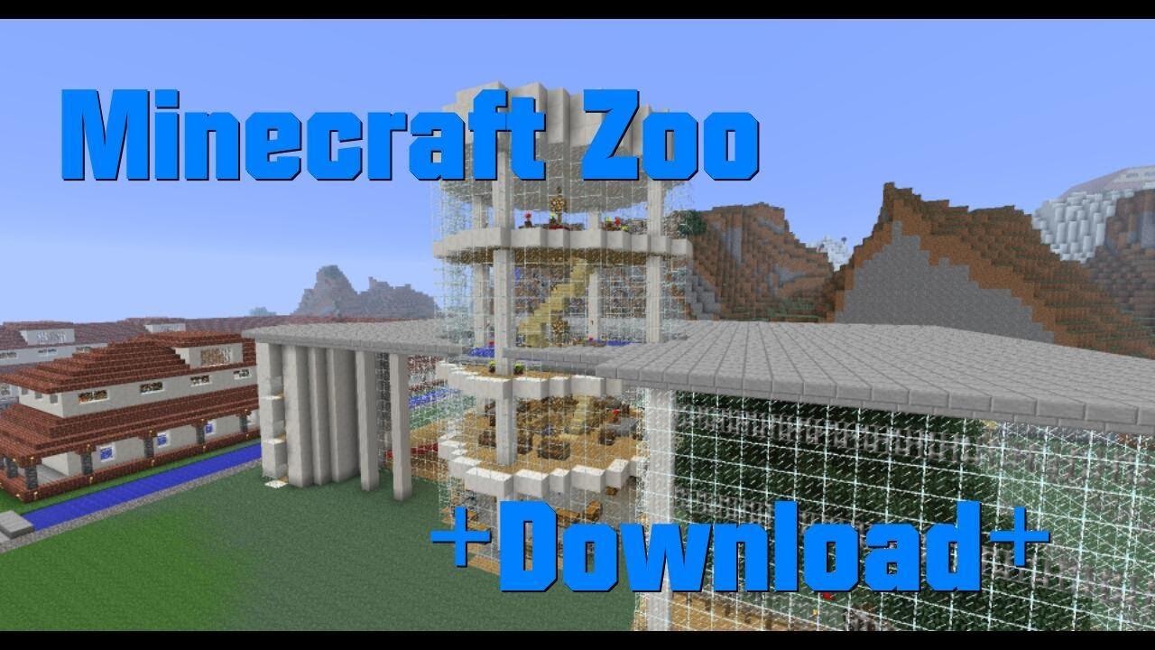 Zoo Minecraft Map DOWNLOAD YouTube - Wie downloade ich maps fur minecraft