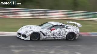 2018 Chevy Corvette ZR1 spy video
