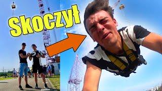 Skoczyłem na bungee z NIEZNAJOMYM