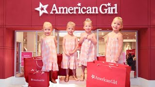 FIRST Time At The AMERICAN GIRL Store- Dad CAN'T Say NO 🙅🏻‍♂️