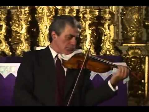 Bach Violin Sonata BWV 1003 A minor 1 Grave Haroutune Bedelian   YouTube