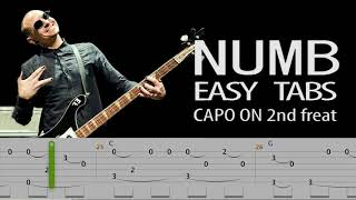 Linkin Park - Numb (Easy Acoustic Guitar Tabs)