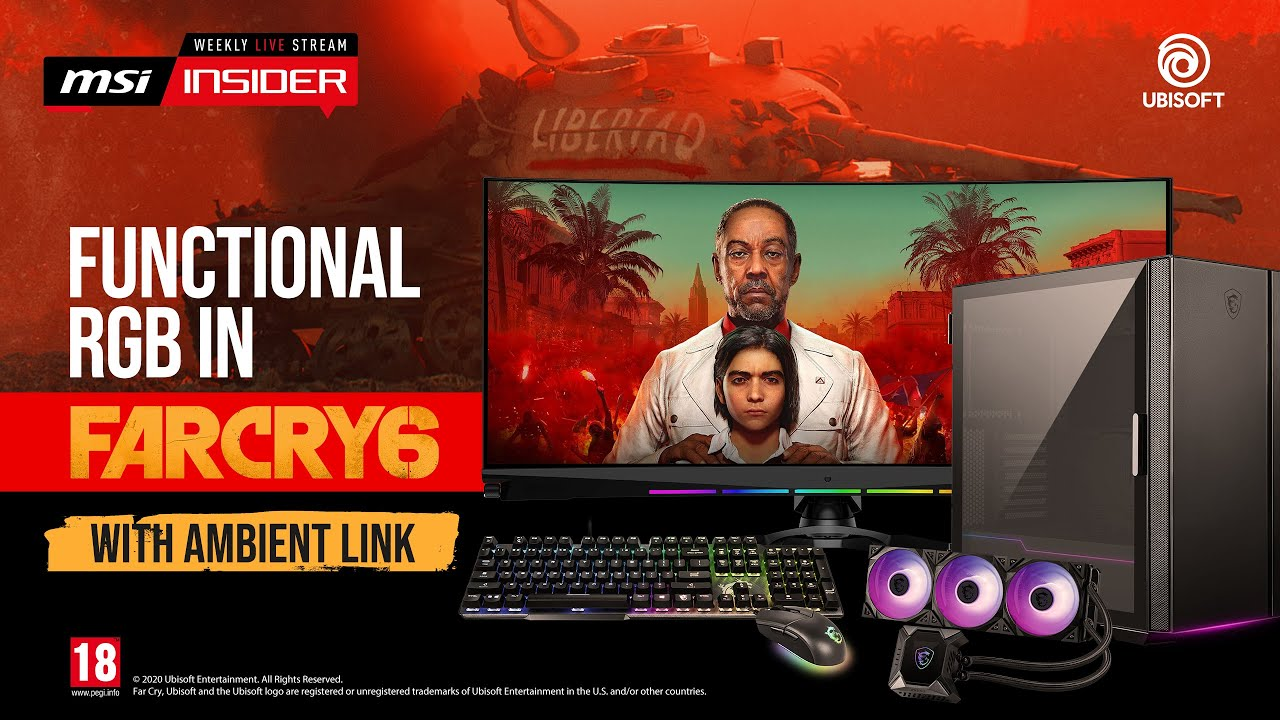 Functional RGB in Far Cry 6 with Ambient Link