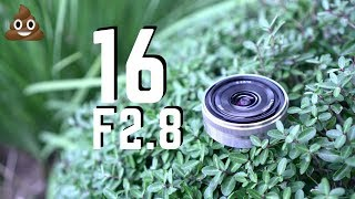 sony 16mm F2.8 Review  Comparison