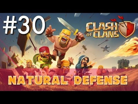 Clash of Clans - Single Player #30: Natural Defense | Minimalist Army Playthrough