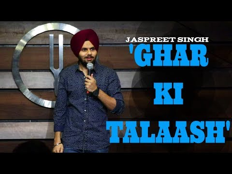 Download Youtube: Ghar Ki Talaash | Jaspreet Singh Stand-Up Comedy