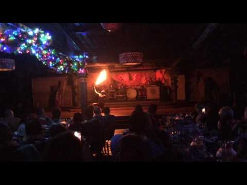 Disney World Nov. 2016 Spirit Of Aloha Dinner Show Fire Show Category 2 seating