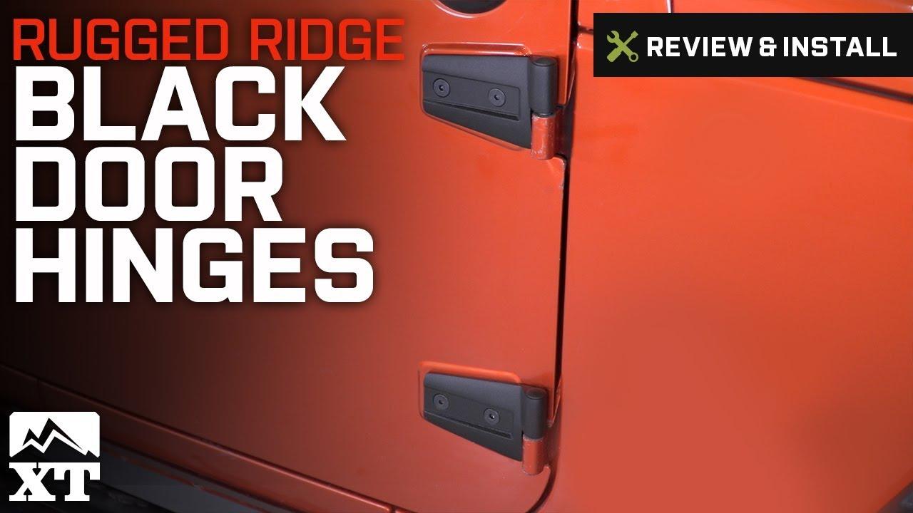 Jeep Wrangler Rugged Ridge Black Door