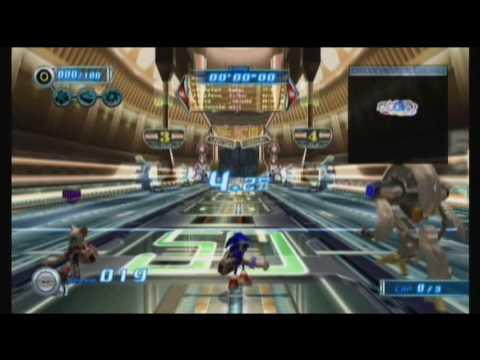Sonic Riders: Zero Gravity - Megalo Station
