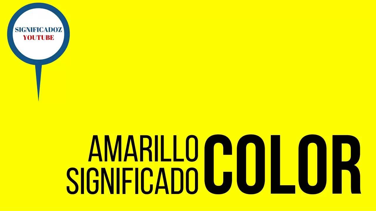 Amarillo significado del color amarillo youtube - Que colores combinan con el lila ...