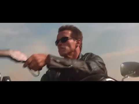 Download Terminator 2   Tow Truck  Harley Bike  ChaseScene HD