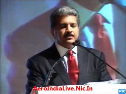 Changing landscape of global Aerospace and Defence industry - Anand Mahindra [Aero India 2011]