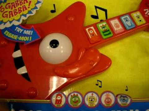 Yo Gabba Gabba Muno Grooves Guitar Musical Toy by Spin