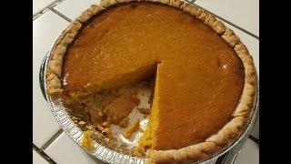Making Pumpkin Pie Using Fresh Pumpkins!