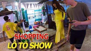 LÔ TÔ SHOW & Những người đẹp CHUYỂN GIỚI tại hội chợ SHOPPING HELLO WEEKEND I cuộc sống sài gòn