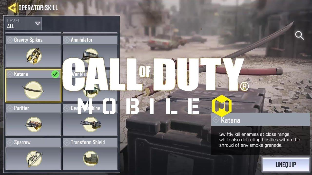 Call of Duty®: Mobile - Operator Skill: Katana