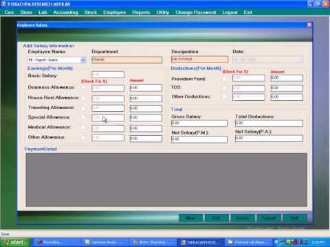 Chemical Lab Management System - B R softech - YouTube