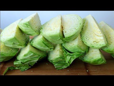 老壇鹽水泡菜:傳統簡單配方,一次秘製5斤包菜,酸爽開胃解油膩【夏媽廚房】