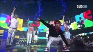 BEAST [Beautiful Night] @SBS Inkigayo Popular song 20120826