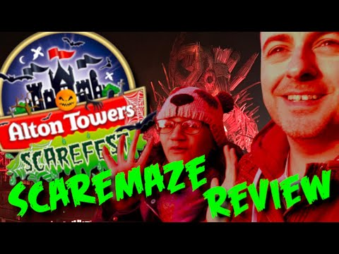 Alton Towers Scarefest! All scare mazes reviewed and rated!