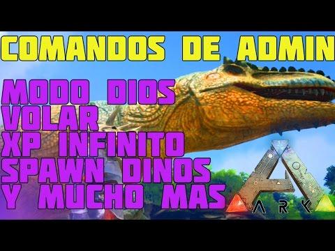 TODOS LOS COMANDOS ADMIN IMPORTANTES - ARK Survival Evolved Xbox One / PS4 - Español