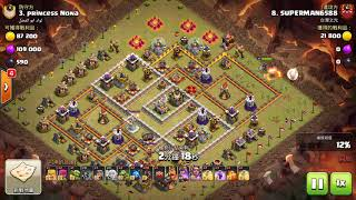 QueenWalk + Hog Rider | Miner | TH11 War Strategi | Clash Of Clans