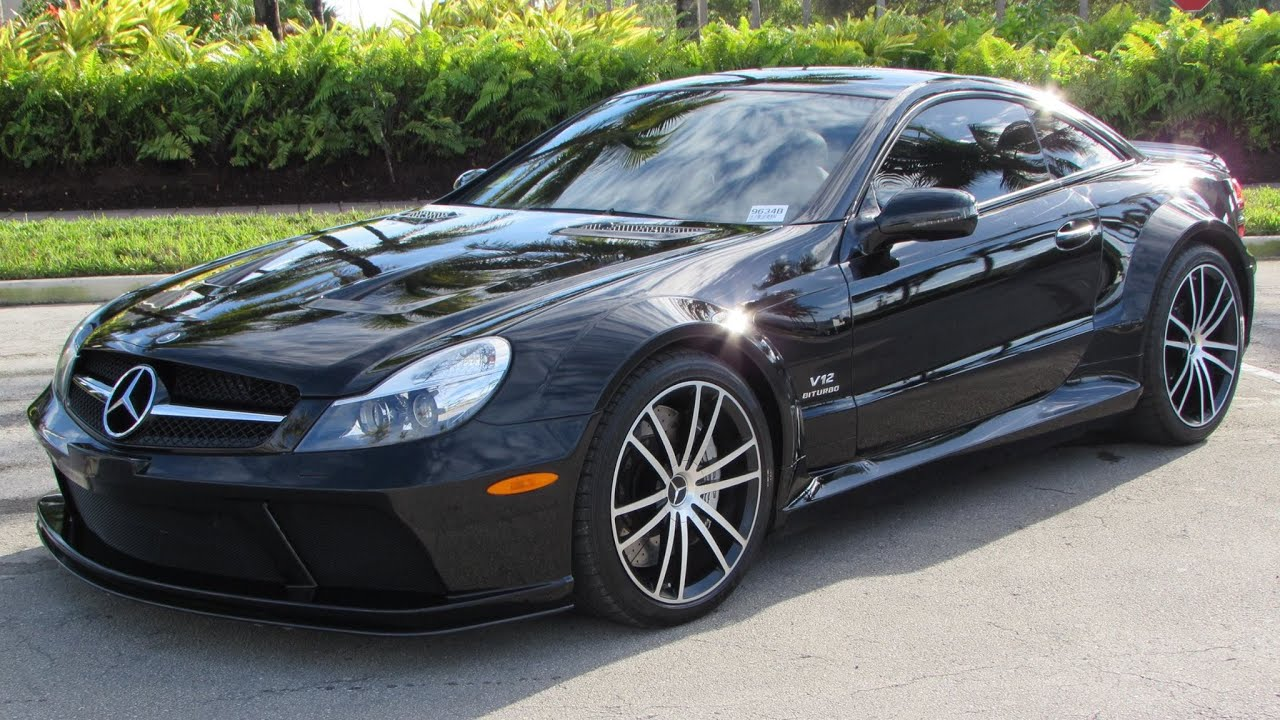 2009 Mercedes Benz Sl65 Amg Black Series Start Up Exhaust