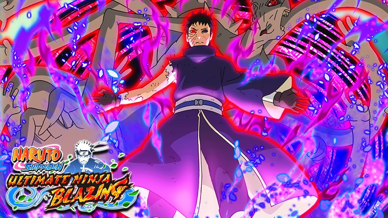 Obito naruto blazing