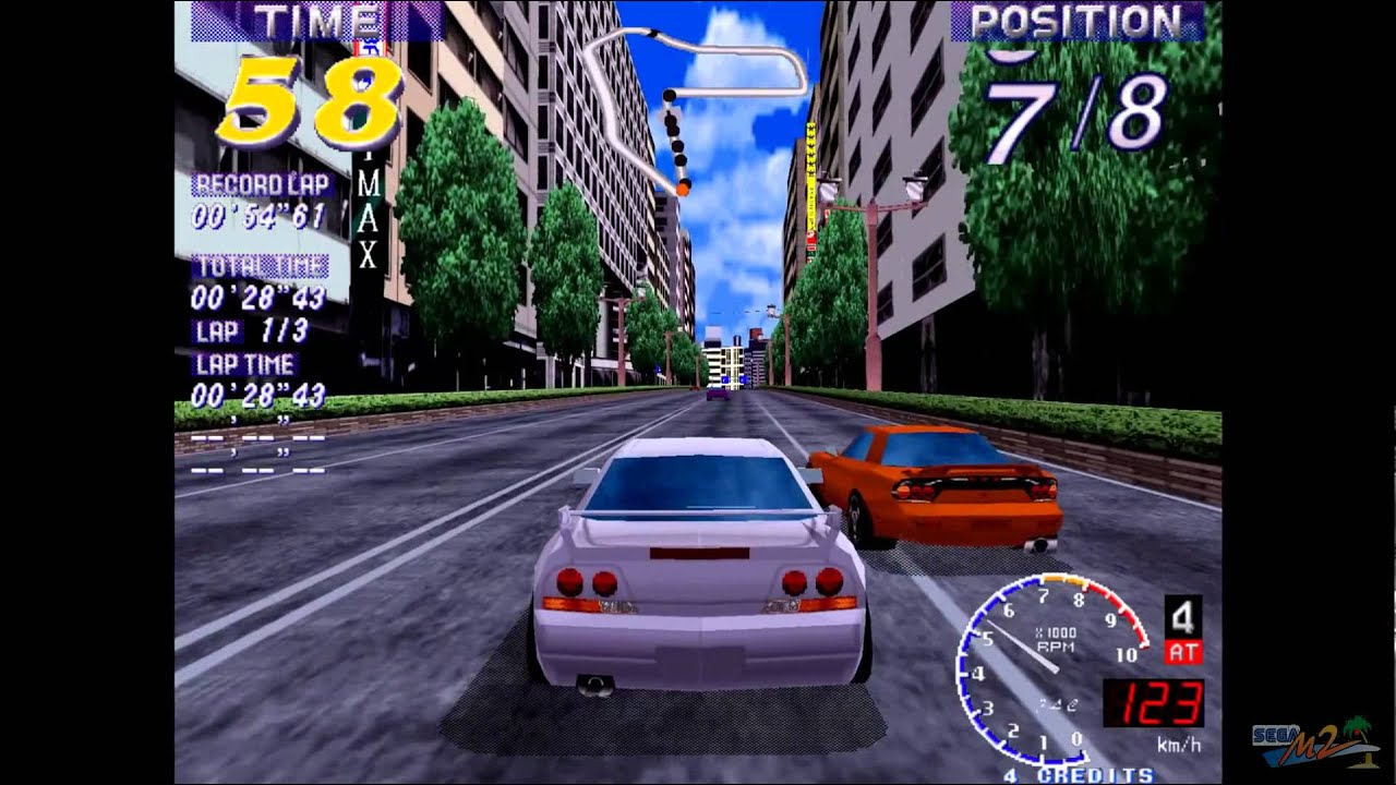da082715407f Over Rev Sega Model 2 Arcade HD gameplay - YouTube