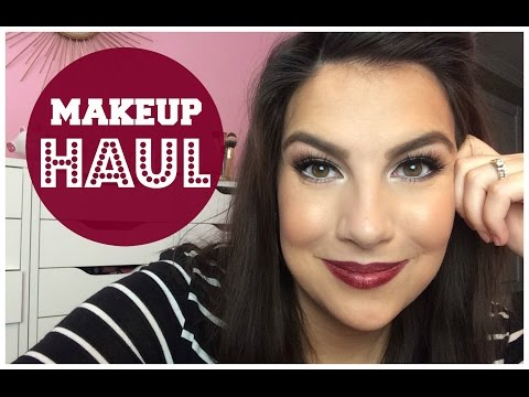 Makeup HAUL! Sephora, Drugstore, Ulta