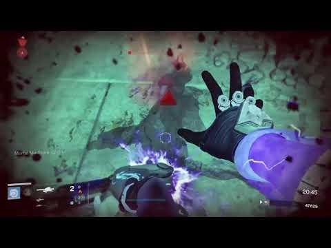 Destiny 1, Nightfall, Warlock Voidwalker, The Undying Mind (3-31-20)