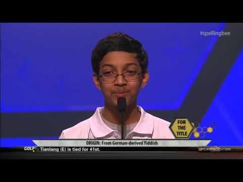 Arvind Mahankali Wins 2013 Scripps National Spelling Bee