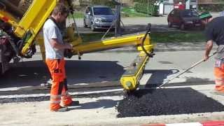Belagsarbeiten Sprider Maskiner Umbricht AG Turgi