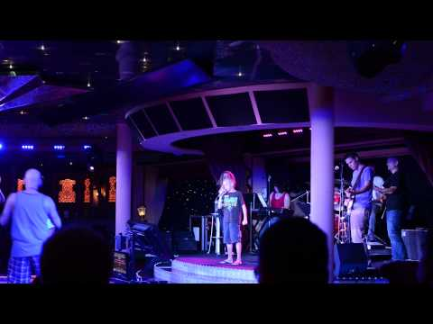karaoke on cruise ship