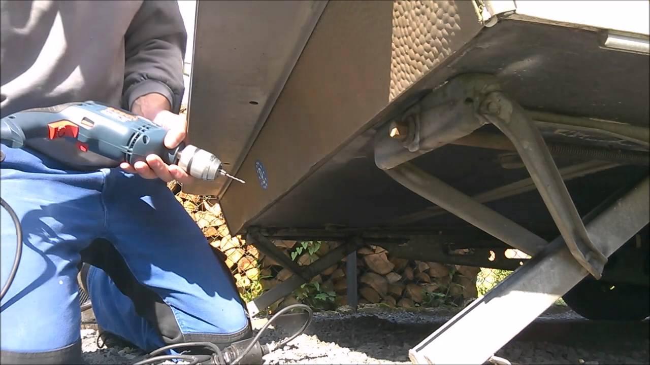 Fußboden Im Wohnwagen Erneuern ~ Wohnwagen küche erneuern abflussrohr spüle